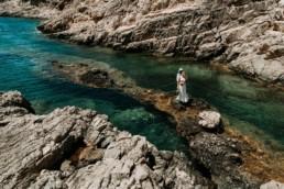 sesja ślubna na greckiej wyspie zakynthos