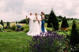 wesele w dworku przy lesie