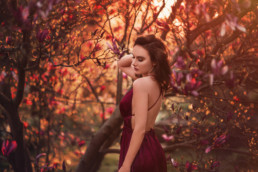 2 sesja kobieca w magnolii 1 uai