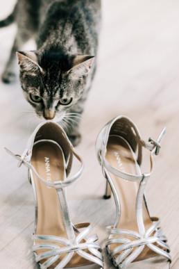 22 kot szary i buty uai