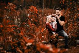 jesienna sesja rodzinna
