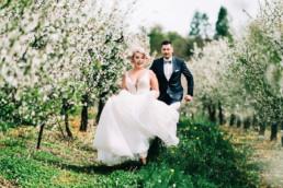 wiosenna sesja ślubna
