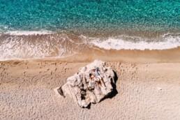 Sesja narzeczeńska na greckiej wyspie Korfu
