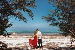 sesja ślubna na Zanzibarze